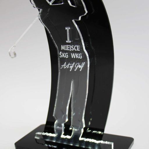 GOLFIARZ - statuetka z plexi