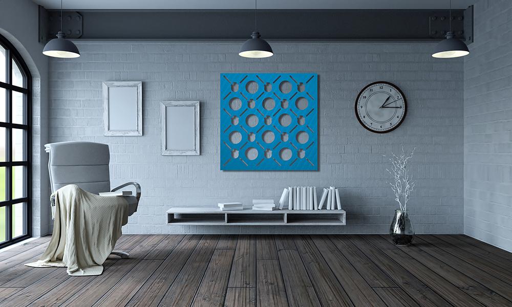 panel ozdobny z wozrem geometrycznym